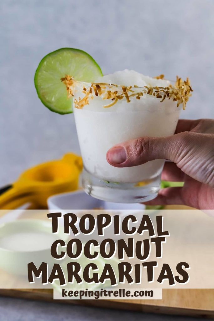 coconut margarita pin