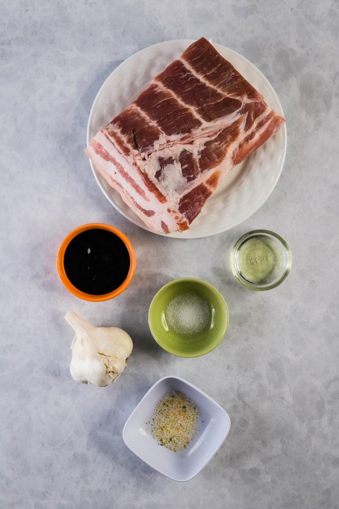 crispy pork belly ingredients