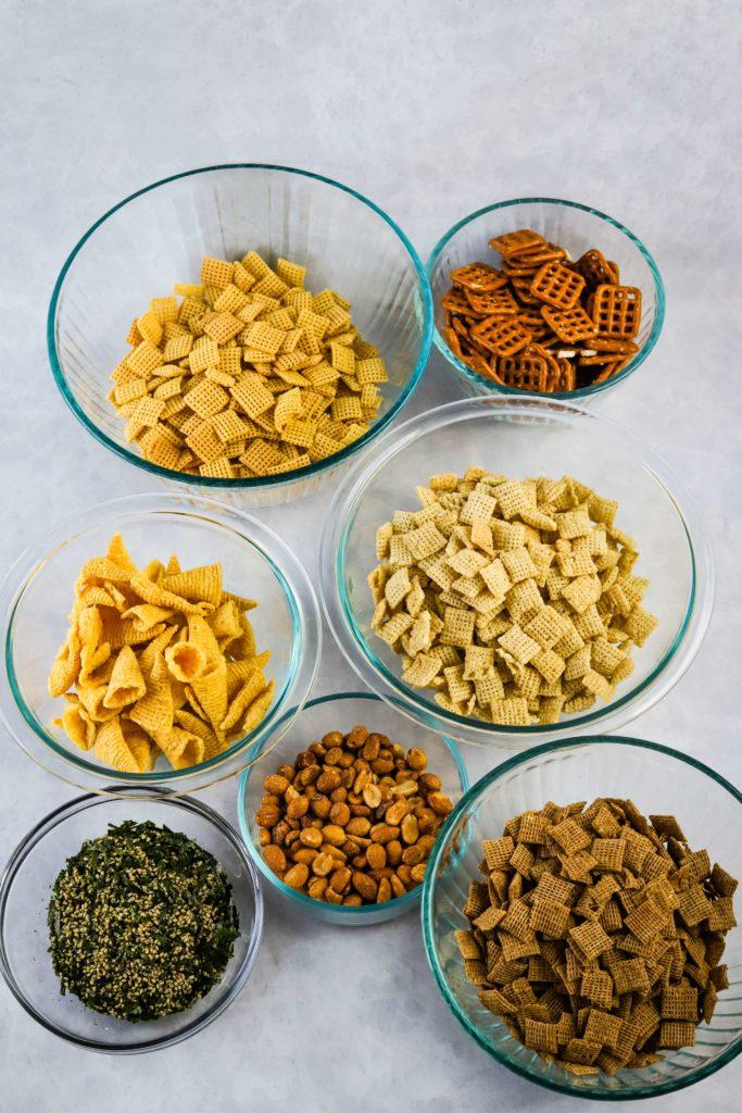 furikake chex mix ingredients