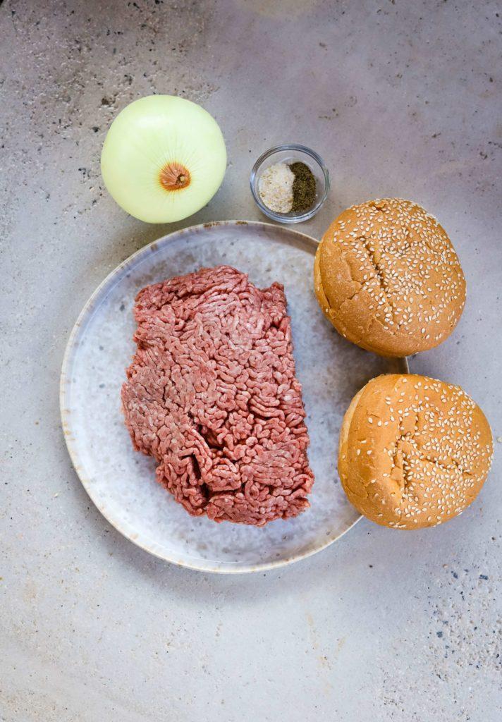 teriyaki burger ingredients