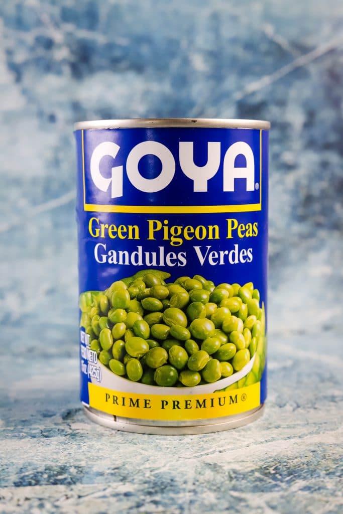 can of gandule beans