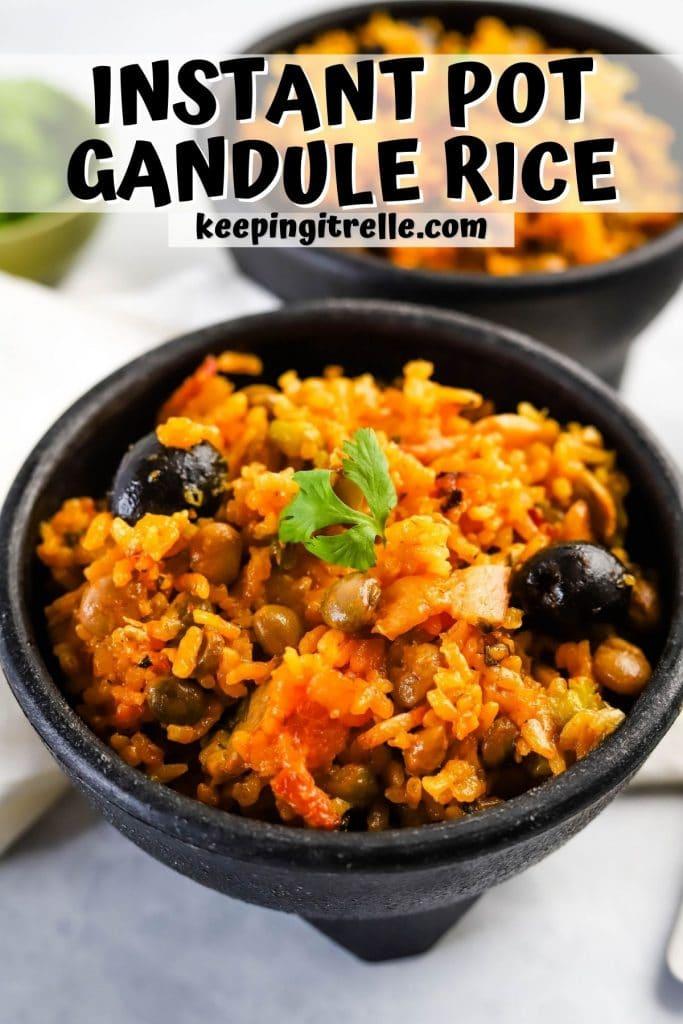 gandule rice