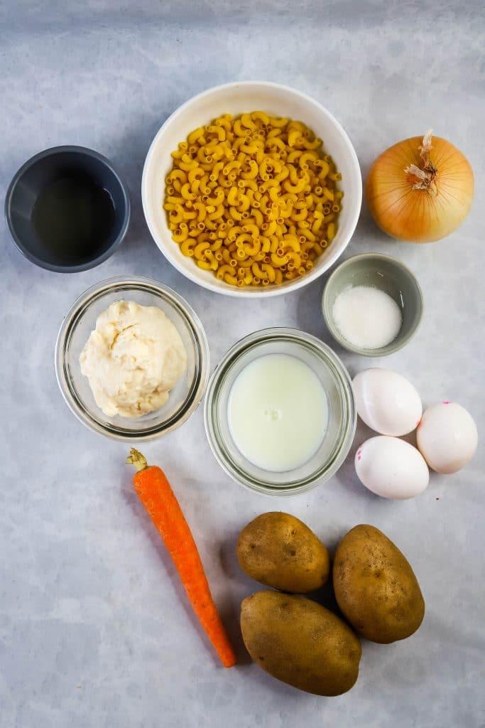 potato mac salad ingredients