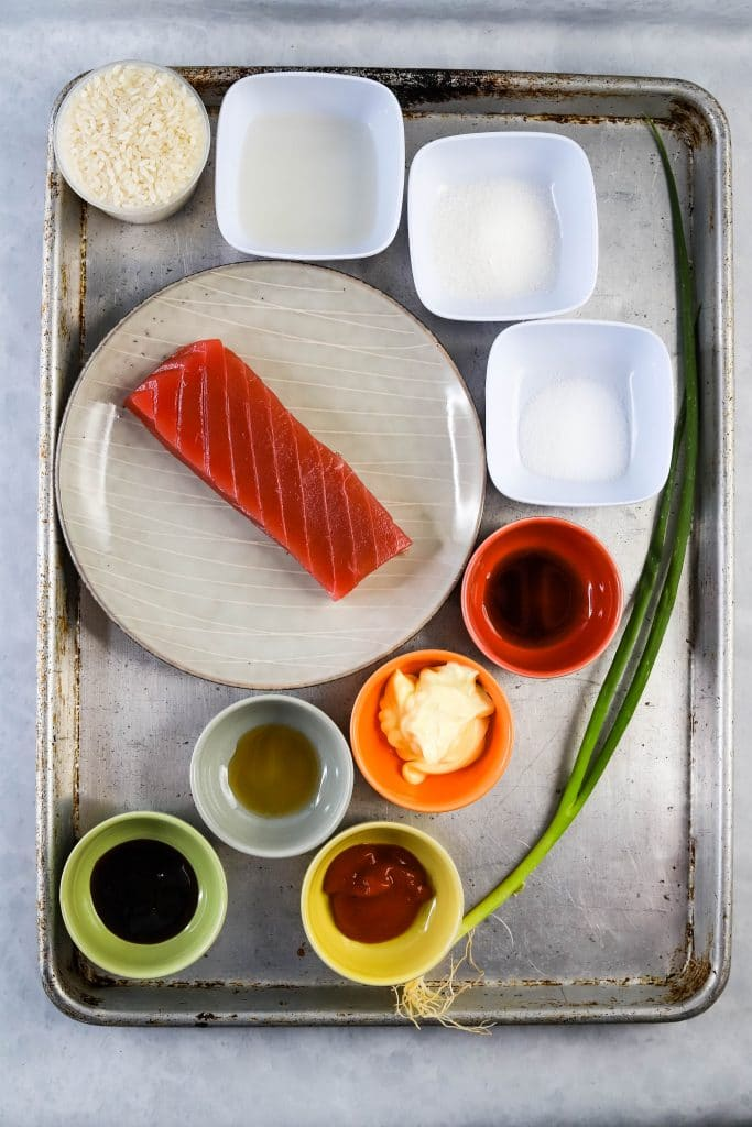 spicy tuna crispy rice ingredients